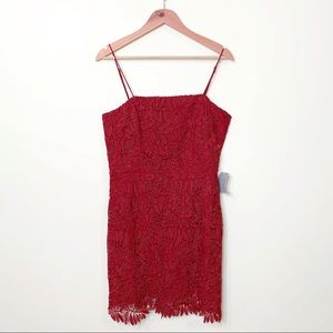 NWT Nordstrom NSR Floral Lace Sleeveless Dress